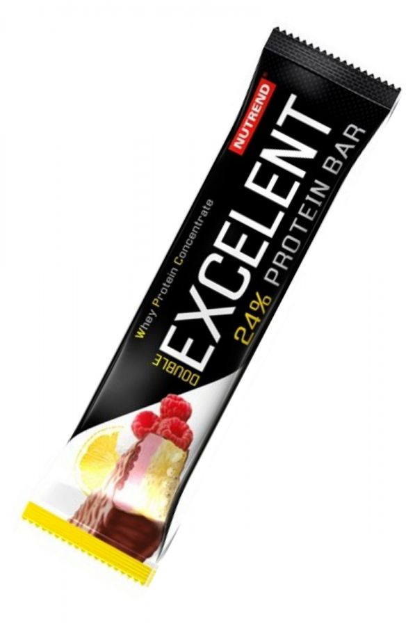 Nutrend Excelent Protein bar - citron & tvaroh & malina s brusinkami