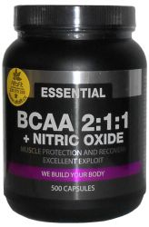 PROM─IN Essential BCAA 2:1:1 + Nitric Oxide 500 capsules