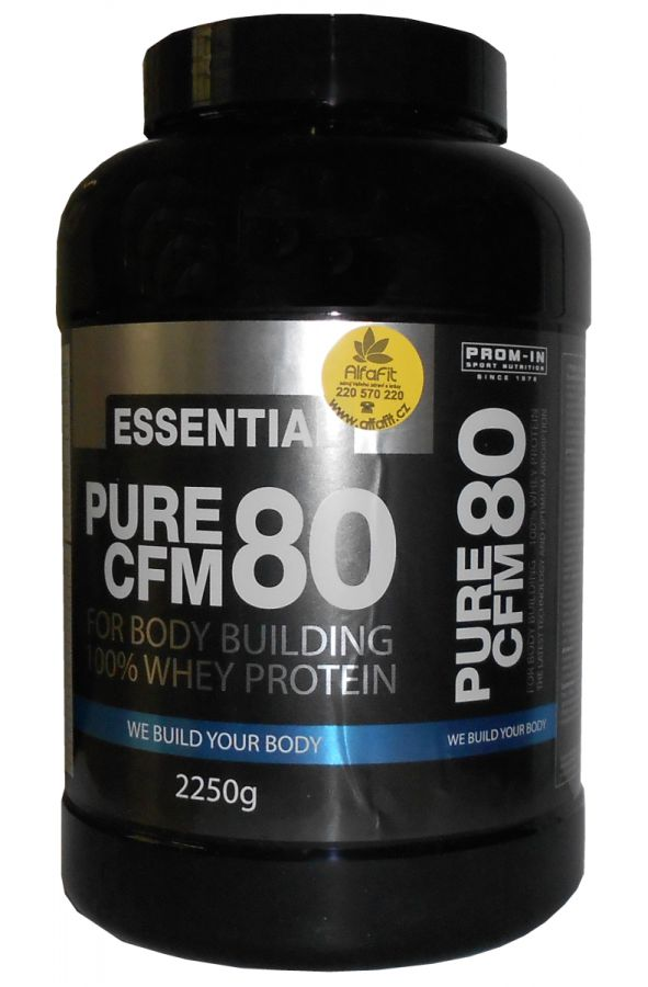 PROM-IN Essential Pure CFM 100% Whey Protein 80 - 1000 g