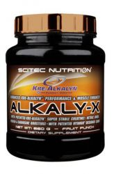 Scitec Alkaly-X 660 g ─ flavor blood orange