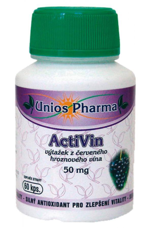 Unios Pharma ActiVin 50 mg - 60 kapslí
