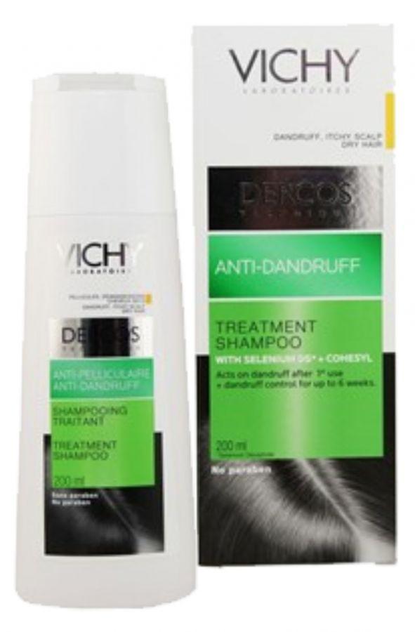 VICHY Dercos Šampon proti lupům - suché vlasy