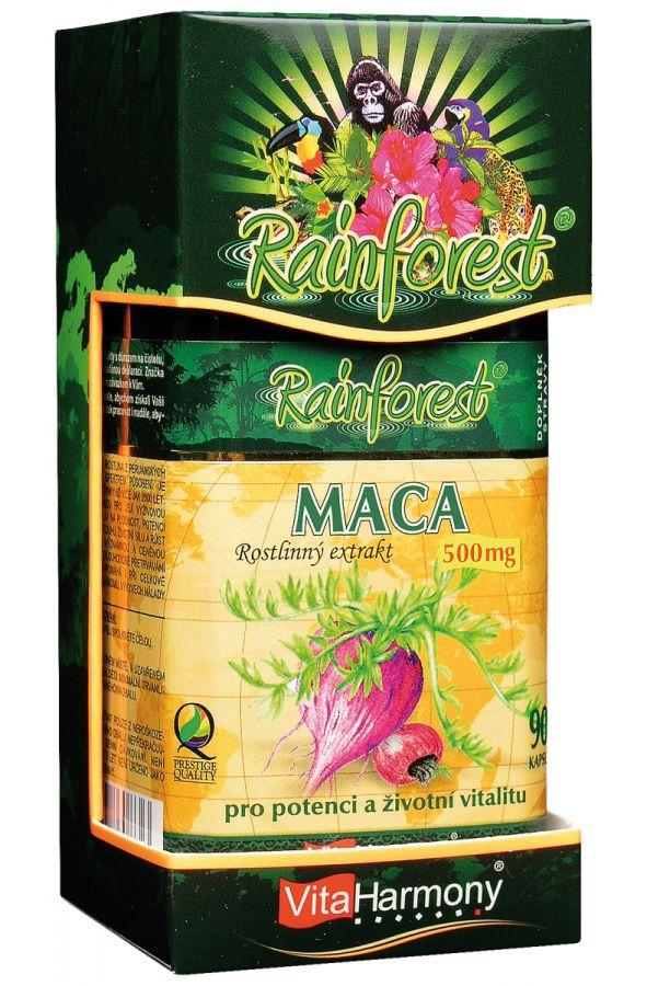 Maca 500 mg - 90 kapslí