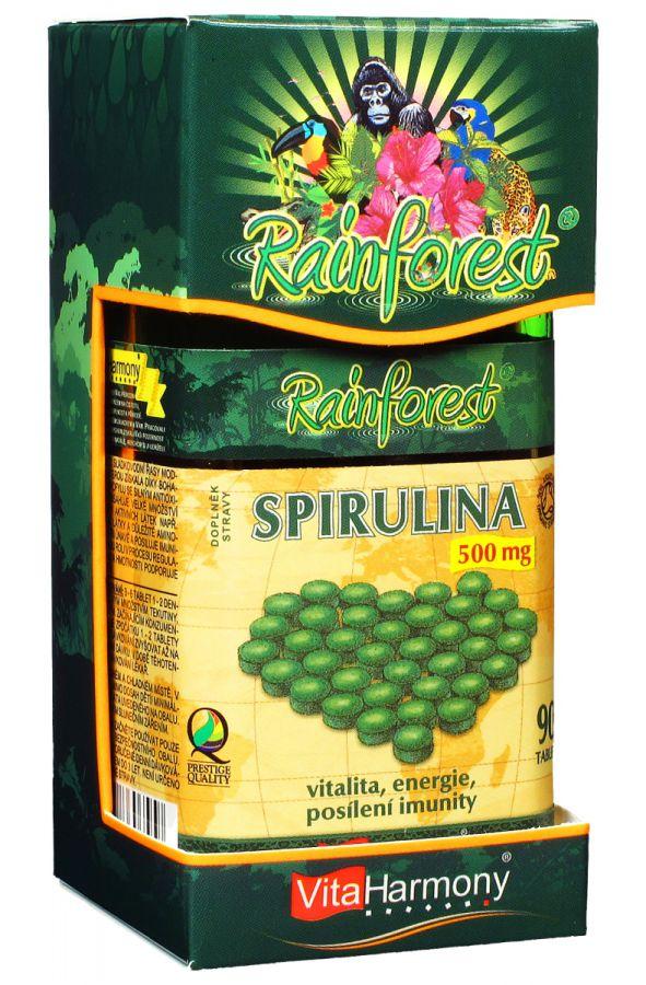 VitaHarmony Spirulina 500 mg - 90 tablet