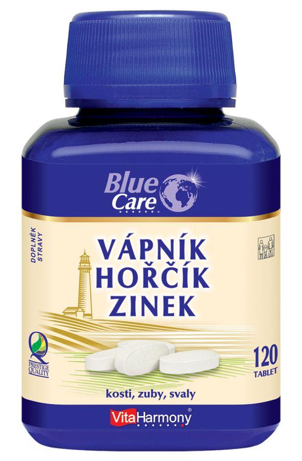 VitaHarmony Vápník & Hořčík & Zinek 120 tablet
