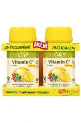 VitaHarmony Vitamin C se šípky 500 mg 60 + 60 tablet (zvýhodněné akční dvojbalení)