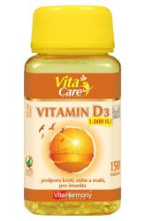 VitaHarmony Vitamin D3 ─ 1000 m.j. ─ 150 tobolek