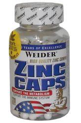 Weider Zinc Caps 120 capsules