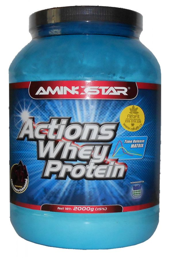 Aminostar Actions Whey Protein 65 - 1000 g