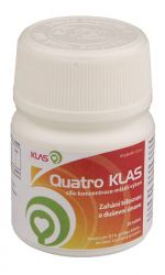 Klas Quatro Klas 30 tablet | koenzym Q10, ginkgo biloba, ženšen + doprava Českou poštou DR a NP nebo Zásilkovna ZDARMA