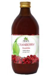 AlfaFit BIO Cranberry 100% juice 500 ml