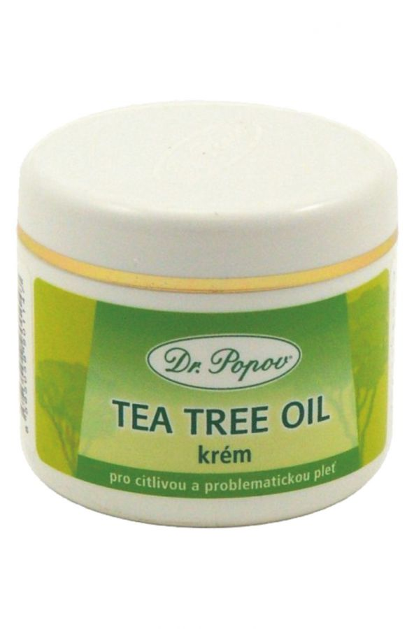 dr. popov tea tree krem 50 ml