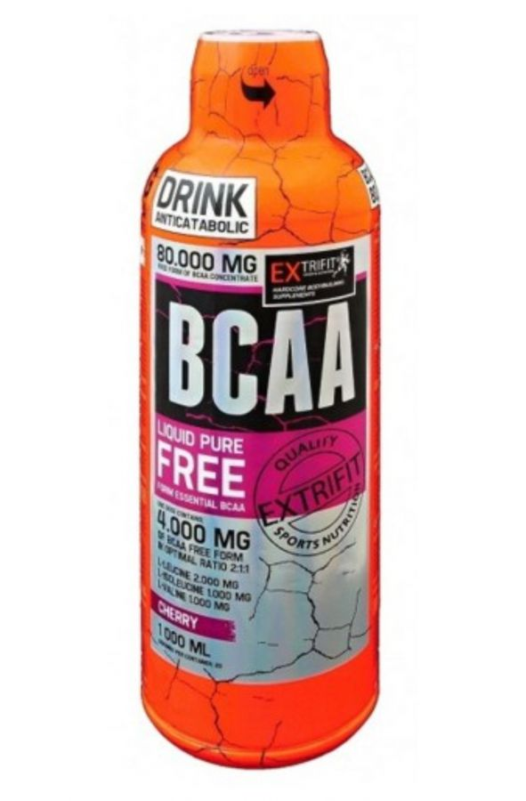 Extrifit BCAA Liquid Free Form 80000 - 1000 ml