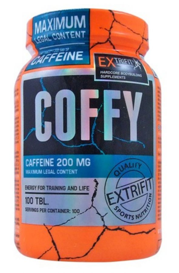 Extrifit Coffy Stimulant 200 mg - 100 tablet