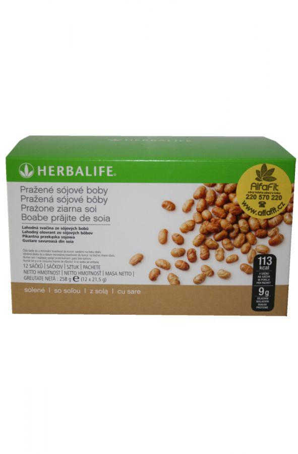 Herbalife Pražené sójové boby 12 x 21,5 g