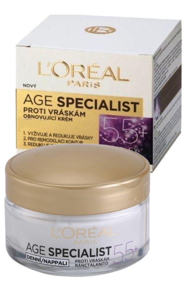 L'Oréal Paris Age Specialist 55+ Daily Anti-Wrinkle Cream