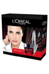 L'Oréal Revitalift Box 1 - Laser Renew Omlazující denní krém 50 ml + Řasenka Fals lash wings 7 ml