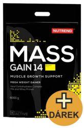 Nutrend Mass Gain 14 ─ 6000 g + šejkr ZDARMA