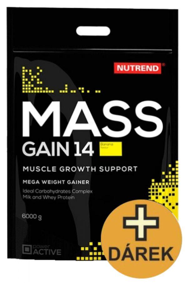 Nutrend Mass Gain 14 - 6000 g