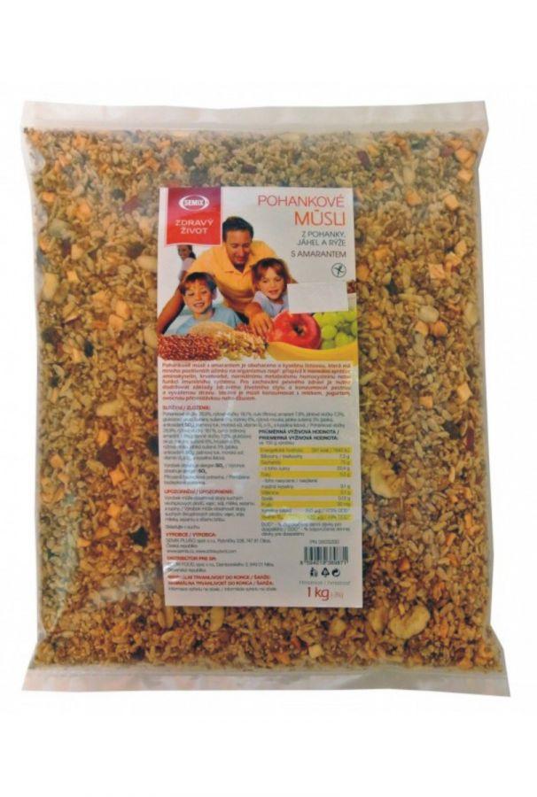 Semix pohankové müsli s amarantem - 1000 g