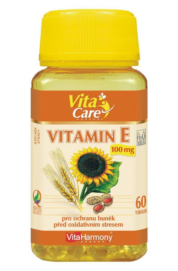 VitaHarmony Vitamin E - 100 mg - 60 tobolek