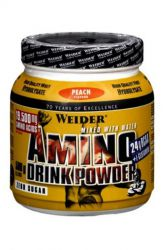 Weider Amino Drink Powder 500 g ─ flavor peach