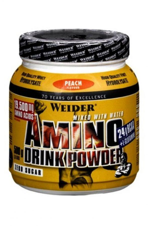 Weider Amino Drink Powder 500 g - příchuť broskev