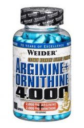 Weider Arginine + Ornithine 4000 ─ 180 tablet