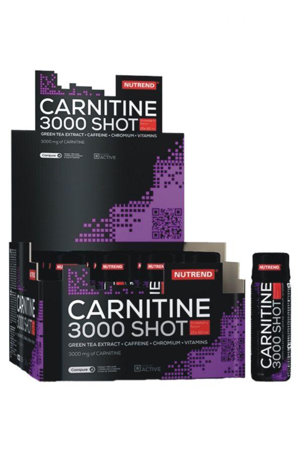 Nutrend carnitime 3000 shot - 20 x 60 ml