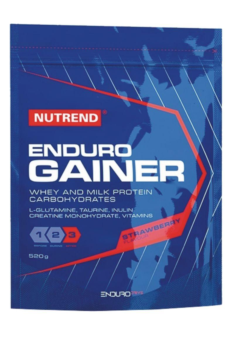 Nutrend ENDURO GAINER 520 g - jahoda