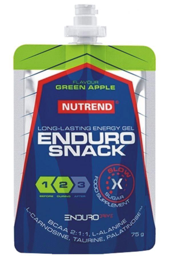 Nutrend ENDUROSNACK - sáček 75 g  - zelené jablko