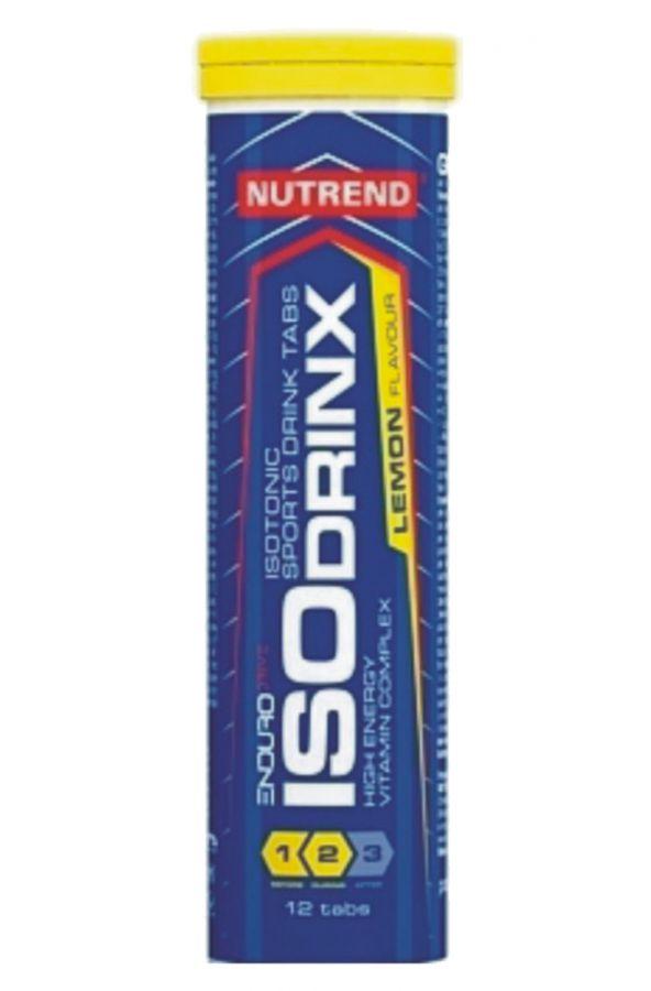 Nutrend ISODRINX TABS 1 tuba (12 tablet) - citrón