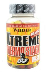 Weider Xtreme Thermo Stack 80 tablets